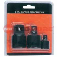 "3pcs impact socket adaptor set3/4""Fx1""M,3/4""Fx1/2""M,1/2Fx3/8""M"